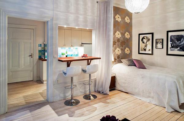 Apartamentos peque os - Soluciones para dormitorios pequenos ...