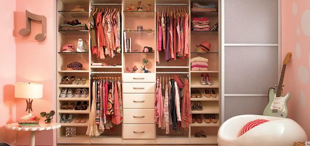 Armarios y closets modernos for Tipos de closet para dormitorios
