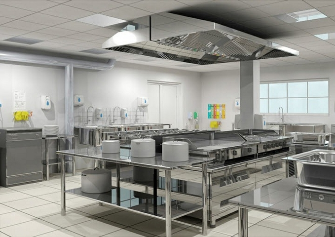 Campanas cocinas industriales for Cocinas industriale