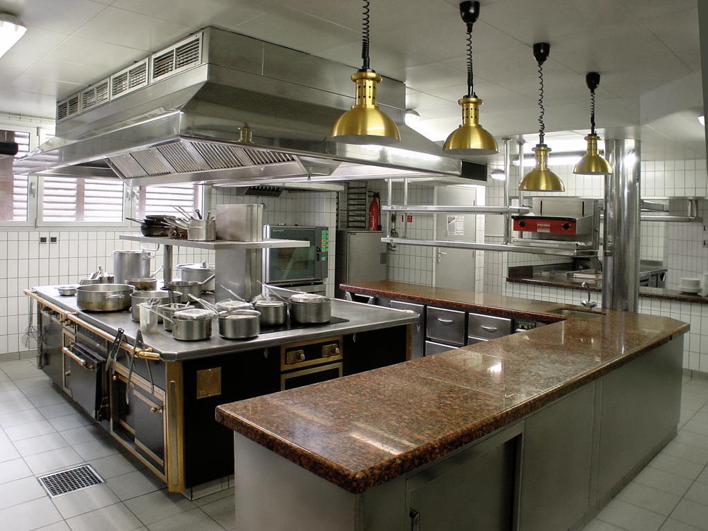 Cocinas industriales modernas for Cocinas y equipos