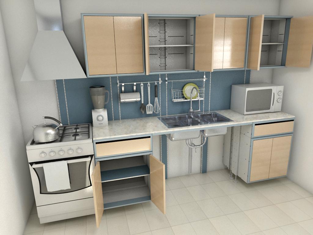 Cocinas industriales for Material para cocinas industriales