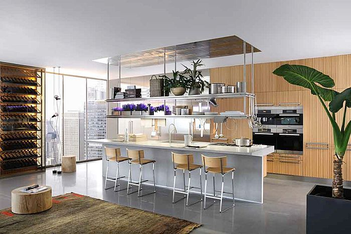 Cocinas integrales para espacios peque os for Disenos de cocinas integrales para espacios pequenos