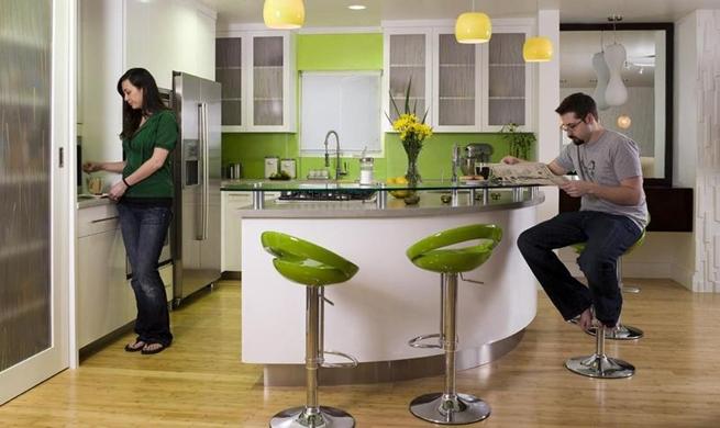 Cocinas modernas minimalistas for Planos de cocinas integrales