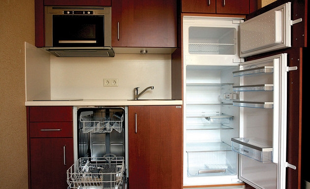Cocinas para espacios peque os for Cocinas modernas para espacios pequenos