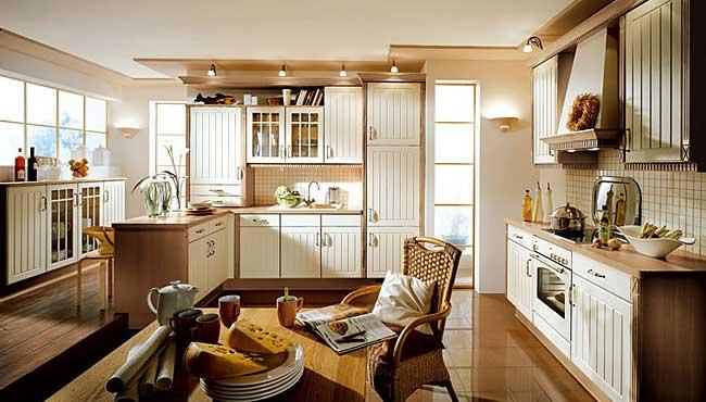 Cocinas r sticas de madera - Suelos para cocinas rusticas ...