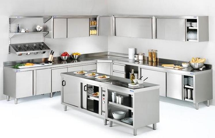 Cocinas semi industriales for Muebles para restaurantes modernos