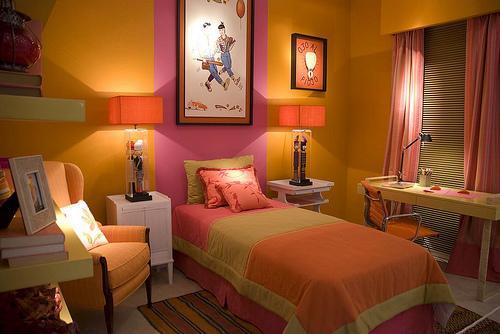 Colores de dormitorios para mujeres, decoración