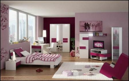 Colores de dormitorios para mujeres.