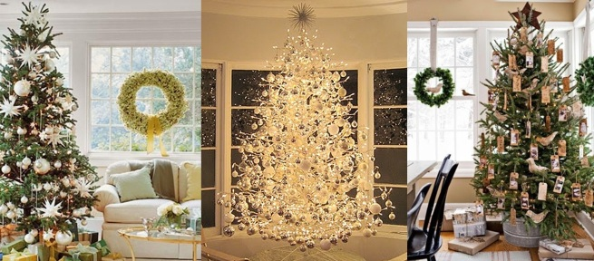 Arboles navidad modernos el rbol de navidad rbol de - Como decorar un arbol de navidad moderno ...
