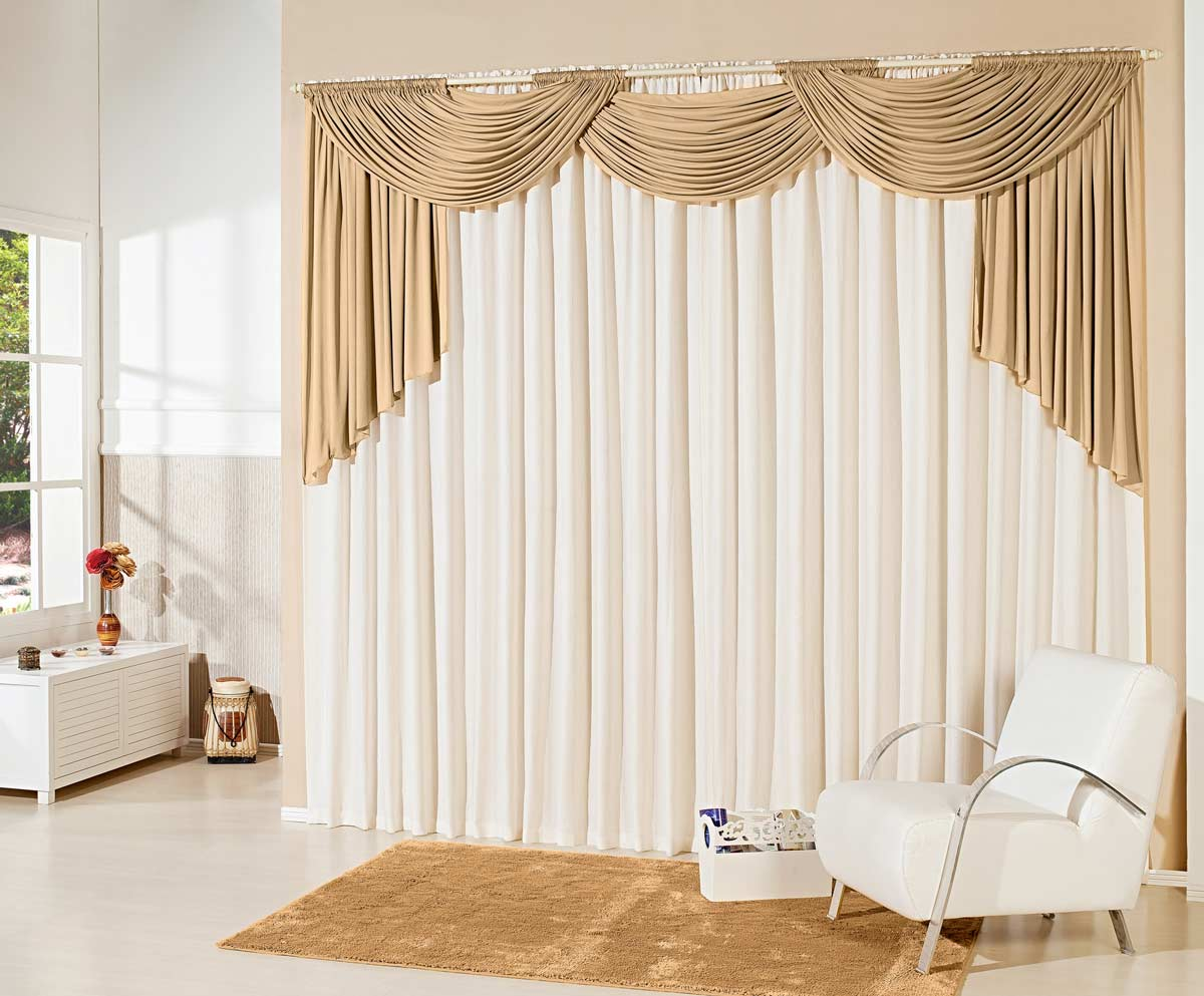 Cortinas de salas for Cortinas para muebles