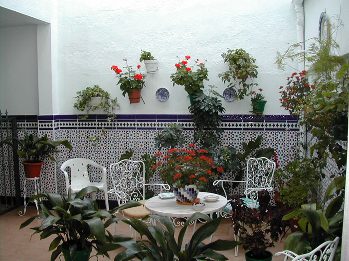 Decoraci n de patios interiores for Decoracion de patios pequenos con plantas