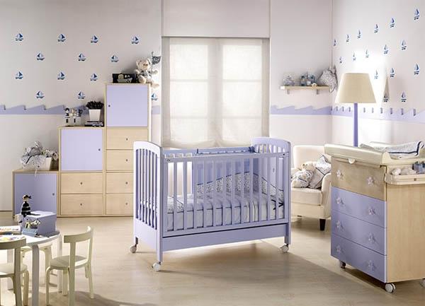 Decoraci n para habitaciones de bebes for Decoracion de cuarto para nina recien nacida