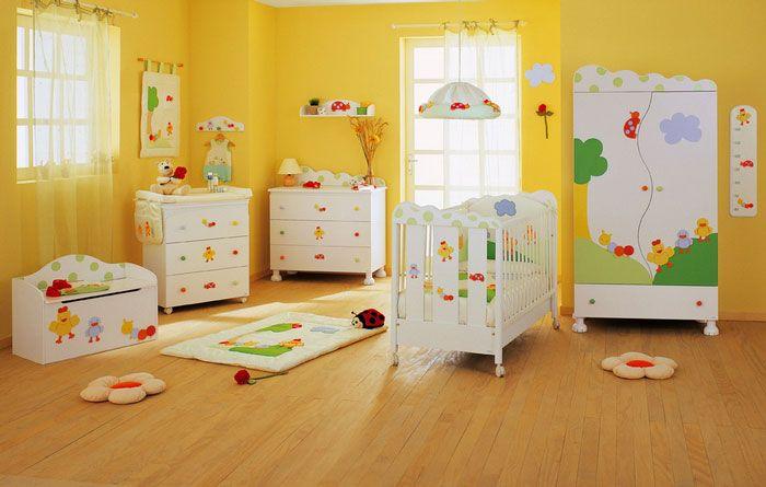 Decoraciones para habitaciones de bebes - Habitaciones ninos decoracion ...