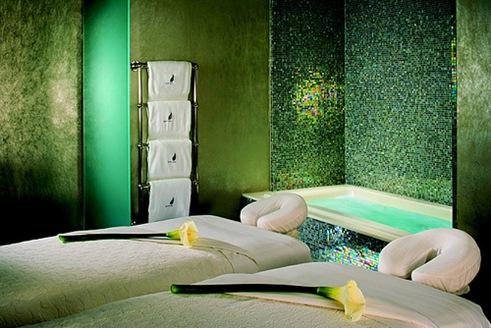Decorar sala de masajes.