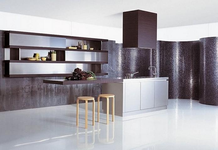 Dise o de cocinas minimalistas for Diseno de cocinas minimalistas