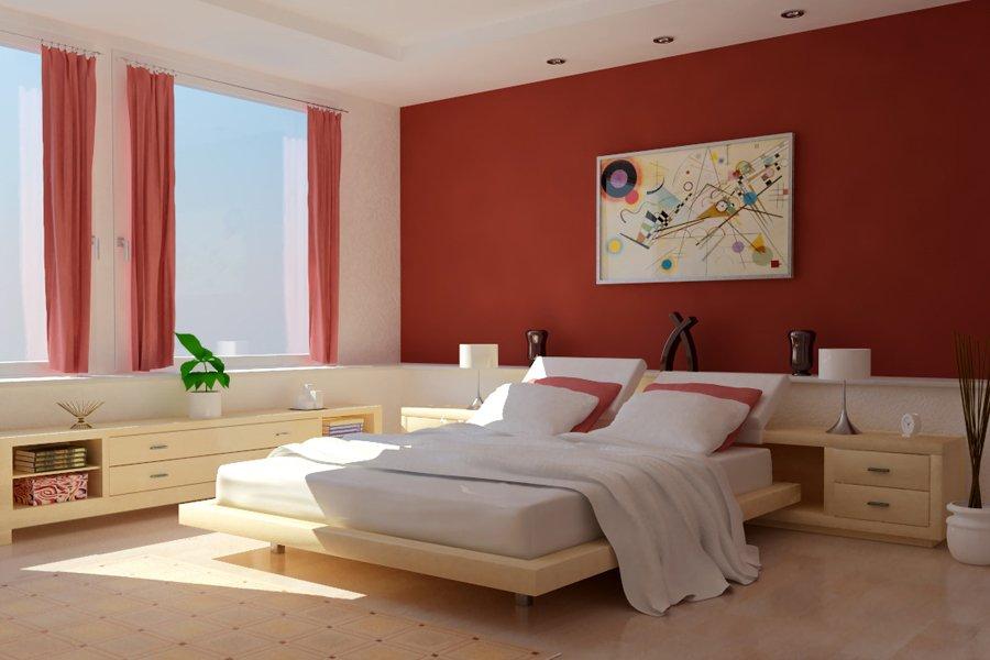 Dormitorio Rojo ~ Dormitorio de color rojo