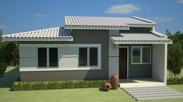 Fachadas de casas peque as - Fachadas clasicas ...