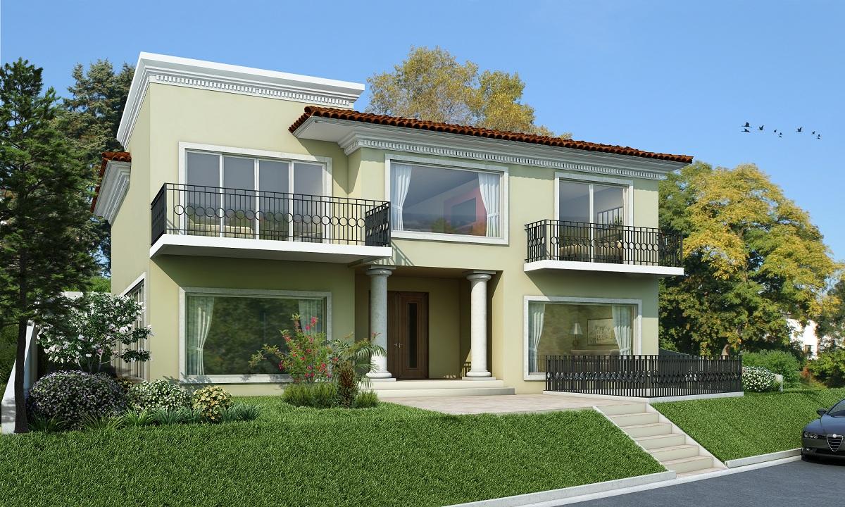 Fachadas de casas for Ver fachadas de casas