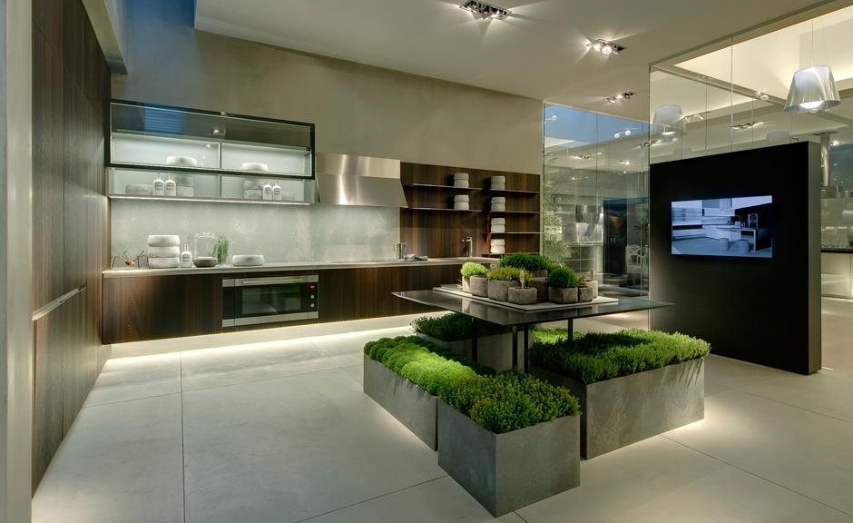 Fotos de cocinas modernas for Cocinas pequenas disenos modernos
