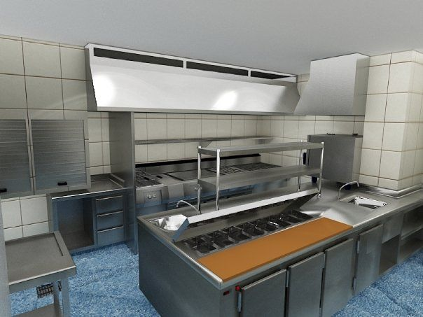Como decorar un sal n for Presupuesto cocina industrial