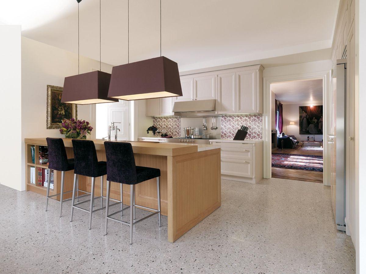 Mesa de cocina moderna for Una cocina moderna