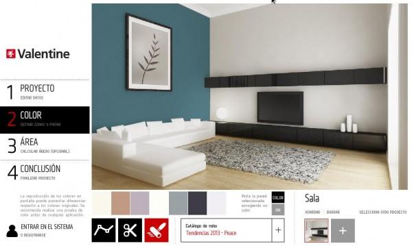 Pintar mi casa virtualmente - Programa para pintar paredes ...