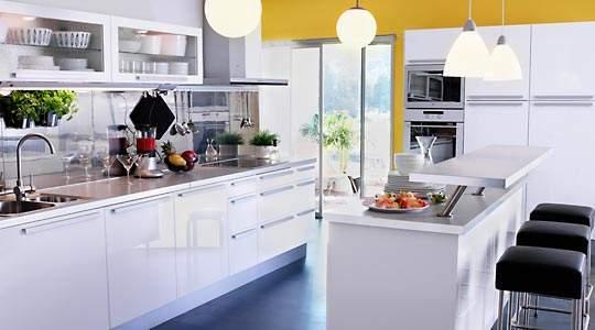 Cocinas modernas for Islas de cocina con desayunador