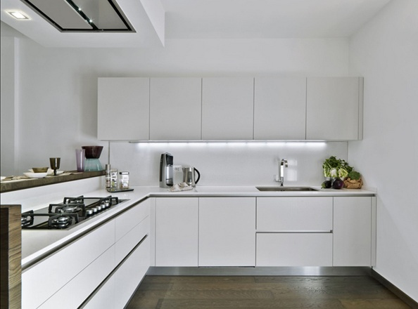 Decorar cocina blanca - Ideas para decorar cocinas modernas ...
