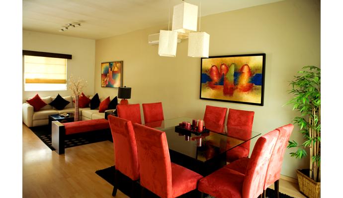 Decoracion Sala Comedor Pequeño Moderno : Salas y comedores modernas para espacios pequeños decoración de