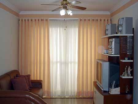 Cortinas para sala for Tipos de cortinas modernas