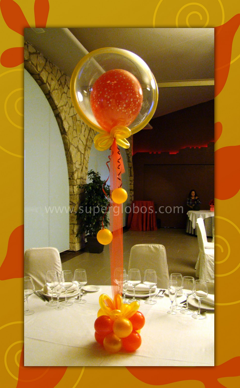 Decoraciones con globos for Decoracion con globos