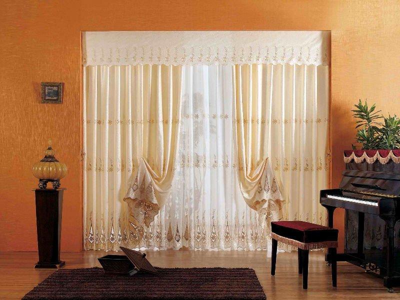 Cortinas para salas for Decoracion de cortinas