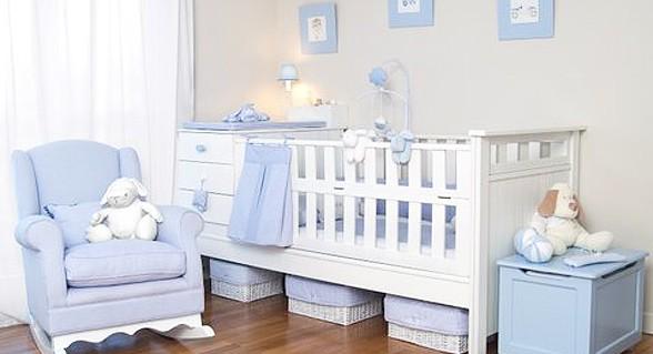 Como decorar el dormitorio de un beb reci n nacido - Dormitorio para bebes ...