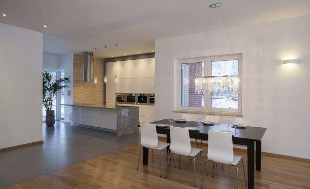 Decoraci n de salas modernas y minimalistas for Mueble comedor minimalista