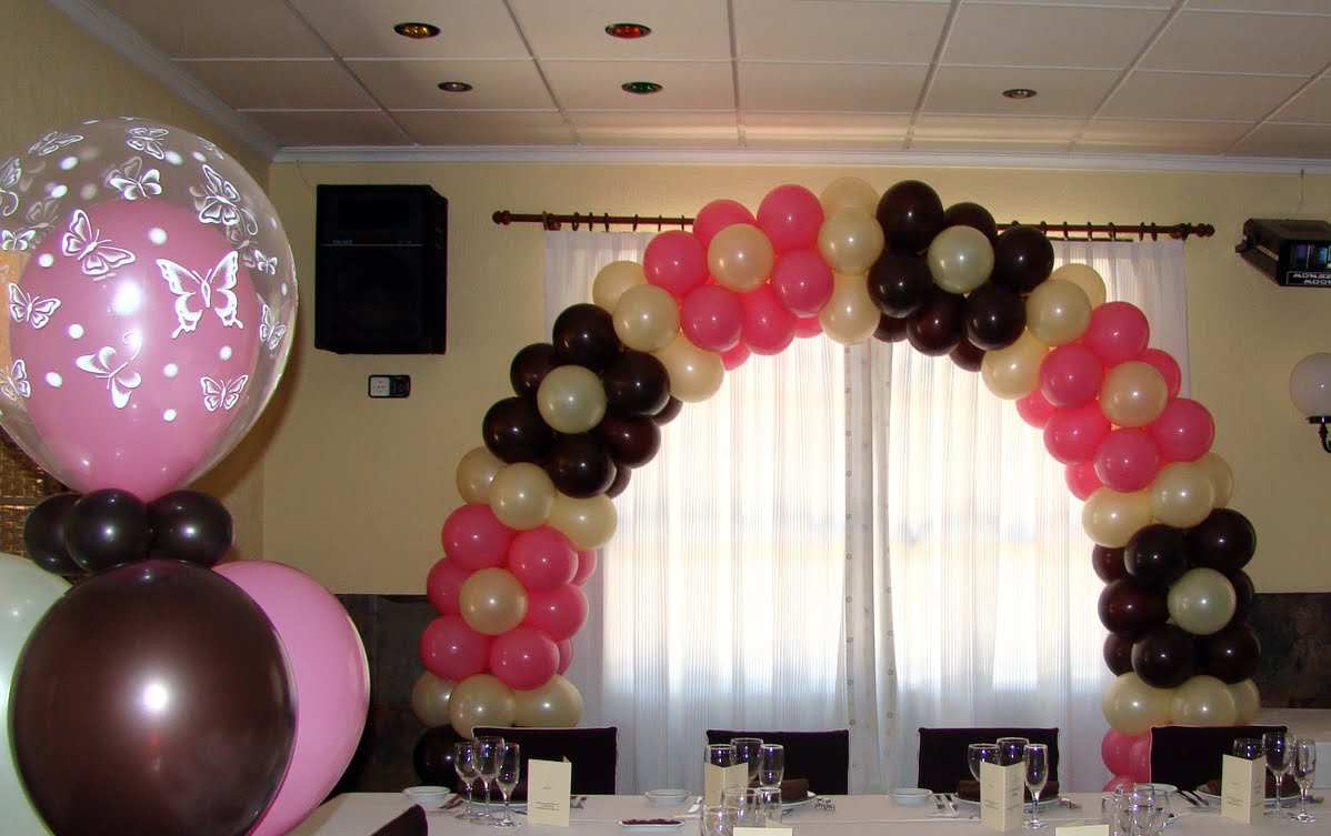Decoraciones con globos for Decoraciones para decorar