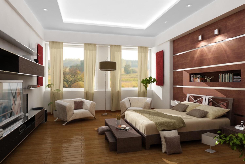 Decoraciones Recamara Principal ~ Como decorar el dormitorio con poco dinero