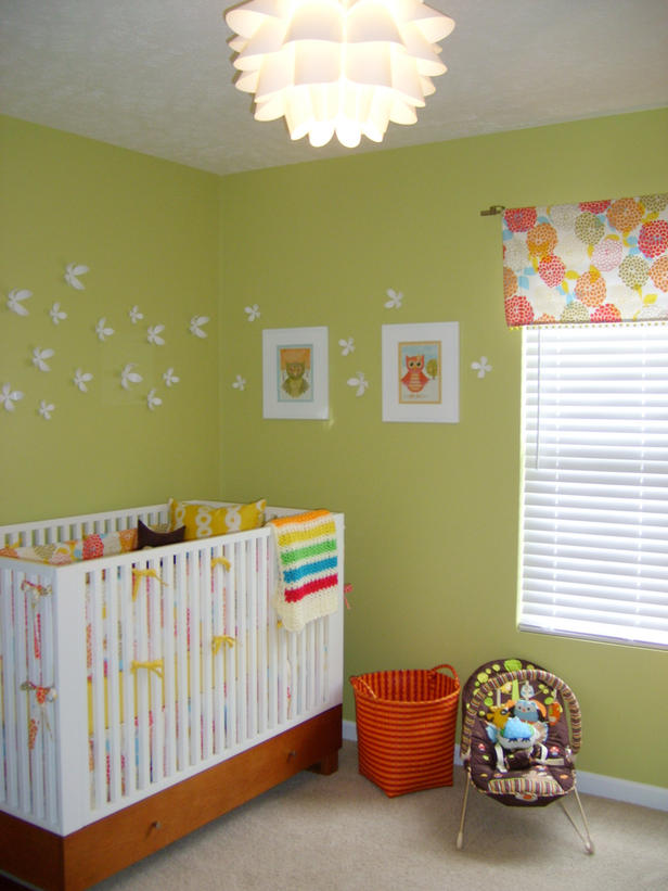 Como decorar el dormitorio de un beb reci n nacido for Decoracion de cuarto para nina recien nacida
