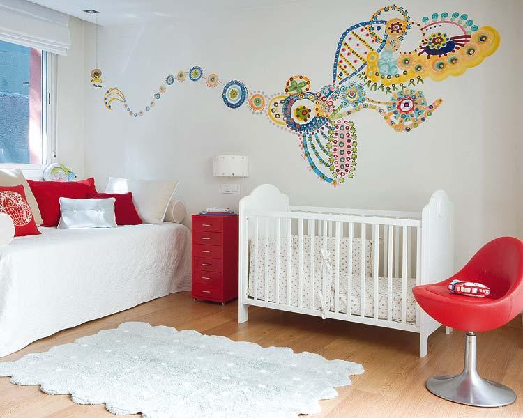 Como decorar el dormitorio de un beb reci n nacido - Dormitorio bebe nina ...