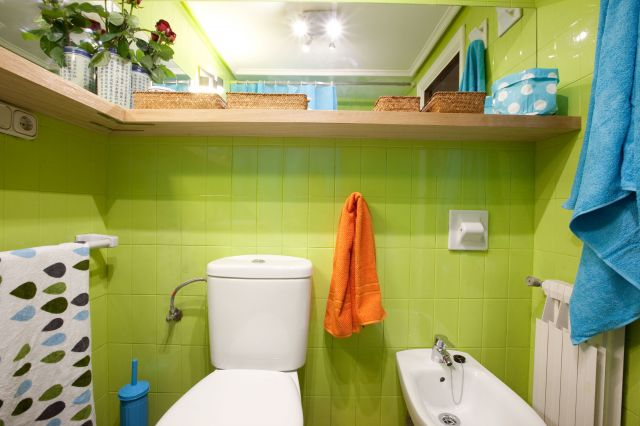 decorar baño sin obra. - Ideas Para Decorar Un Bano Sin Obras
