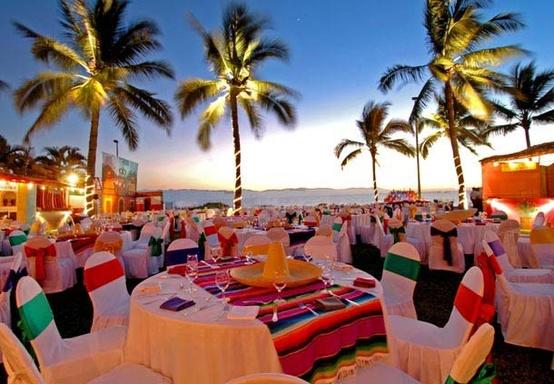 ideas para decorar una boda en el exterior.