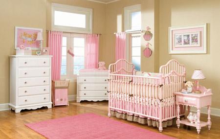Como decorar el dormitorio de un beb reci n nacido - Como decorar un dormitorio de bebe ...